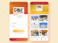 UI/UX: GBF Latin America-Panama 2019 Mobile Design