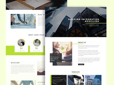 RVT Engineering Homepage- Website Design