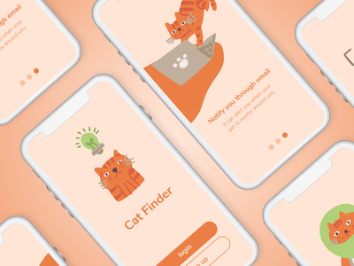 Cat Finder On-boarding UI Application Perspective