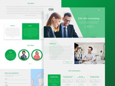 CSA Consulting Webdesign