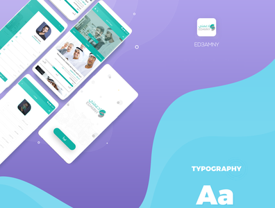 Ed3amny app web illustration webdesign design app ux