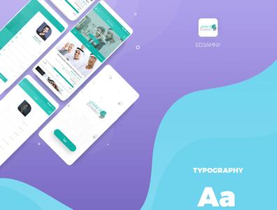 Ed3amny app web illustration webdesign design app ux