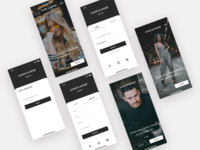 JAMIE & ANNIE - e commerce app - Onboarding | Login
