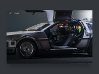 Automobile website | Landing page