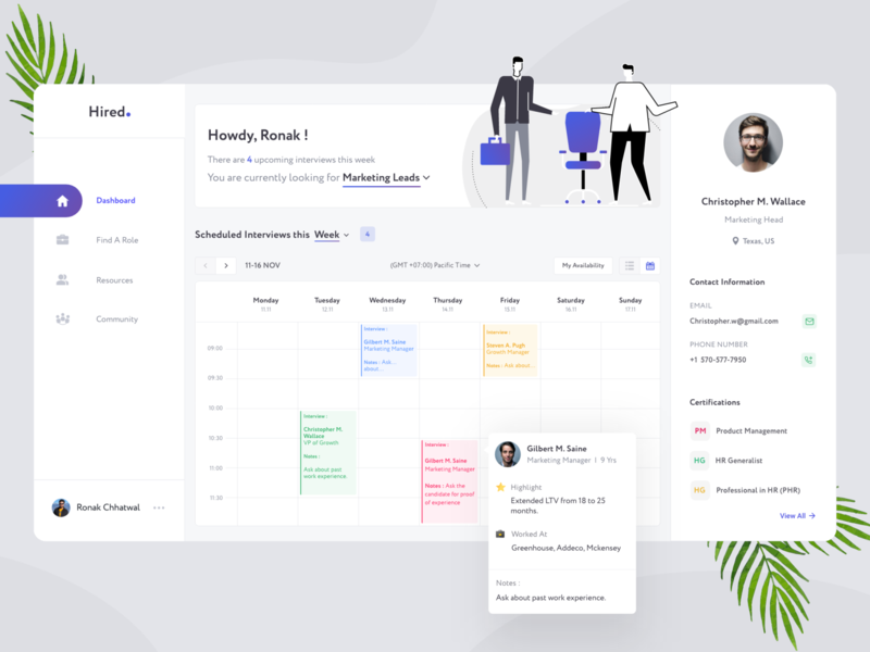 Job Manager - Dashboard