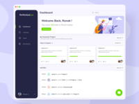 Project & Task Management Application scrum board cards trello board progress bar chat project management tool project board project managment activity feed collaboration task manager task list task board task management dashboad ux ui ronak chhatwal application app
