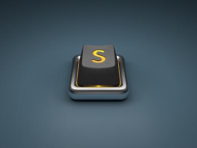 App Icon in 3D - Sublime c4d 3d icon sublime