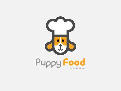 Puppy Food Logo food puppy logo