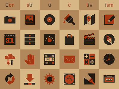 """Constructivism"" - Iconset ui icon"