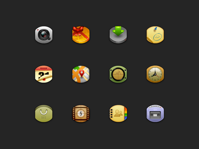 """Fingernail"" - Iconset ui icon"