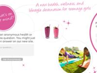 Teen Girl Website