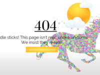 Daily UI 008 404 error page