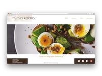 Home page design concept