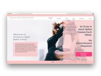 Website Homepage redesign