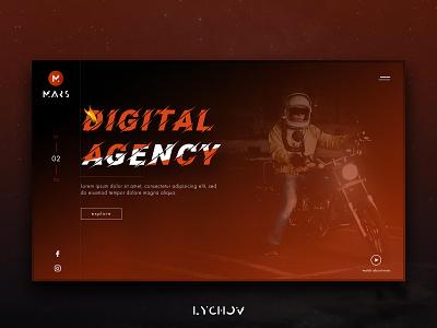 Mars logo flat icon clean vector minimal identity design website ui web ux typography landing page branding