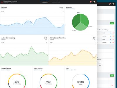 Dashboard & Settings UI