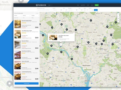 Flexbook Map view