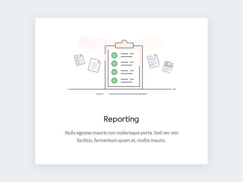Reporting - illustration widget ui text simple line icon onboarding ocr icon modern icon line icon illustration icon design clean