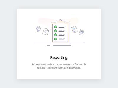 Reporting - illustration
