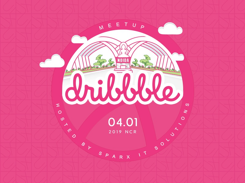 Dribbble Meetup 2019 | Noida | India dribble meetup dribbble design sparx it solutions sparx india noida