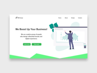 Agency Landing Page Concept