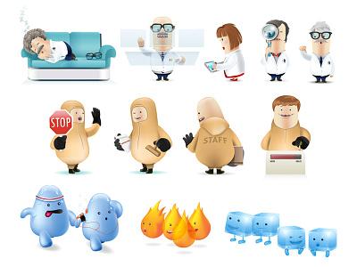 DAITSU CHARACTERS daitsu illustration illustrator character cartoon