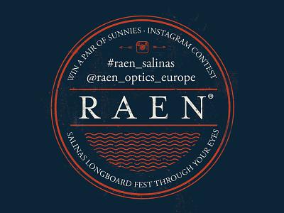 RAEN instagram contest raen sunglasses optics design vector sunnies shield