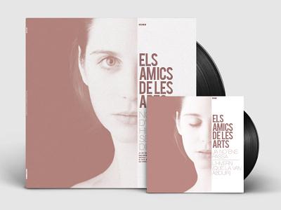 Els amics de les arts record disc design music amics graphicdesign cover