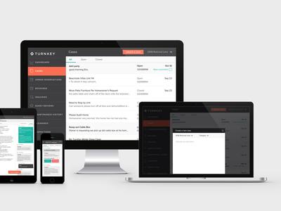 Dashboard / communication app design