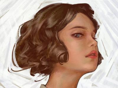 J. C. Leyendecker inspired/study portrait