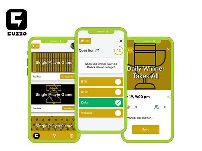 Cuzzo Trivia trivia app uiux app developers app developer android app design app design app development company user interface design mobile app ios app android app
