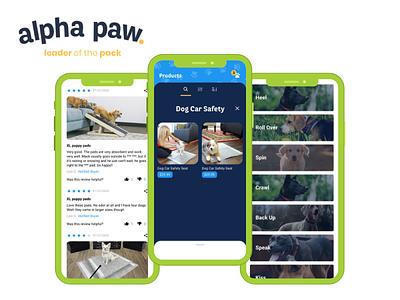 Alpha Paw uiux app development app developers app developer app design app development company user interface design mobile app ios app android app