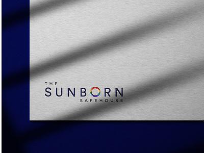 Sunborn ui logo vector typography branding design