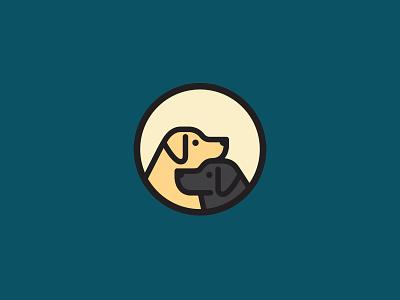 Labradors logo mark logo design branding symbol mark logodesign logo