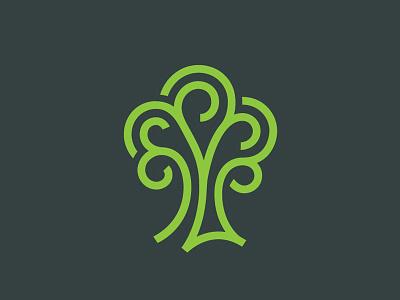 Tree line plant mark symbol logo tree tree logo