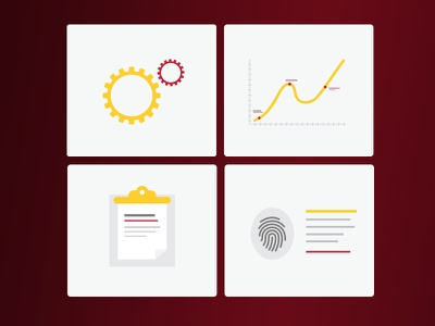 Capabilities Icons icons illustration vector