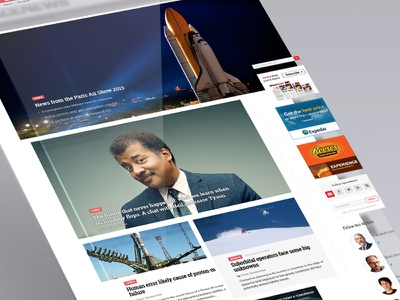 Space wdg web development group design science news articles rockets neil degrasse tyson