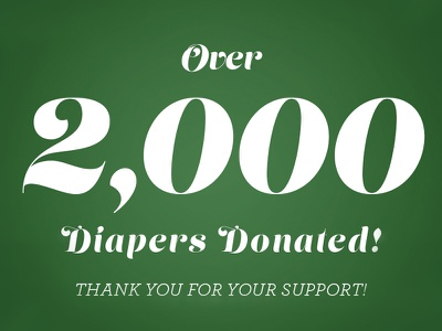 Thank You! wdg web development group design poster tree christmas diaper illustration holiday giveback dc maryland virginia