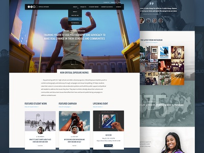 Critical Exposure Desktop website giveback dc nonprofit photography