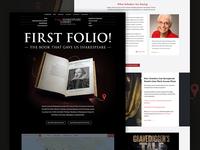 First Folio Tour