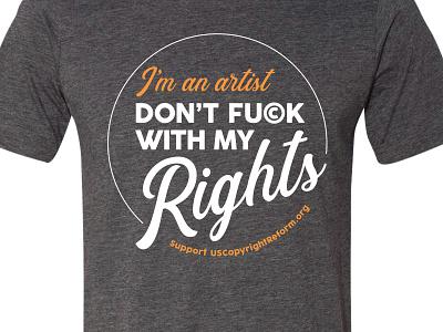 Copyright Reform T-shirt nonprofit t-shirt typography t-shirt design