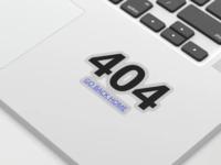 404 page sticker
