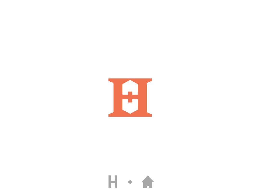 H for House branding logo designer logo design lettermark h logo construction logo home logo house logo home house