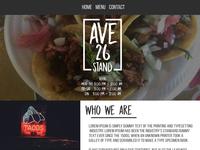 Taco Website Ui