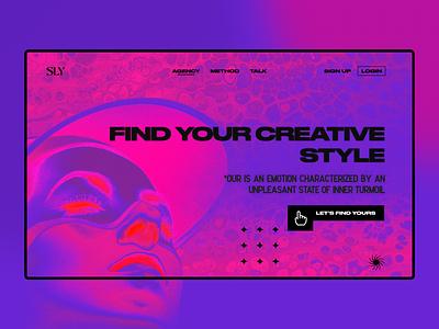 Turmoil | Landing page landingpage page web website uigraphicdesign uiconcept concept explore dailyui agency branding graphicdesign design ui