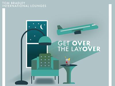 LAX Layover adventure design illustration los angeles lax layover airport