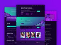 Web design for Belgrade Test Conference 2018