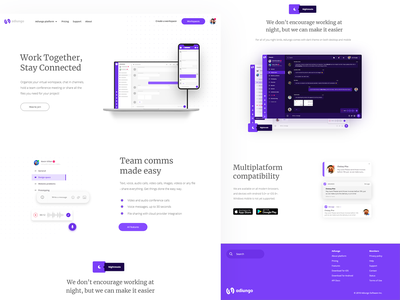 Adiungo landing page front page landing  page frontpage landing page web design ui web design