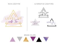 Level Up with Tia - Logotype
