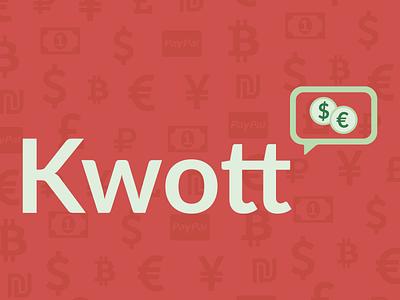 Kwott brand logo invoice quote kwott